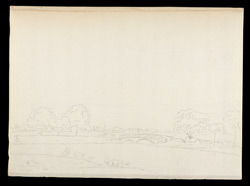 View of road and bridge, Madras. Between November 1792 and February 1793